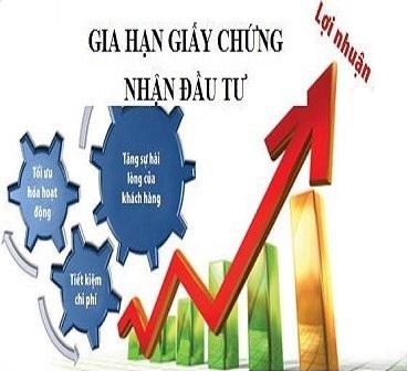 Gia hạn Giấy chứng nhận đầu tư