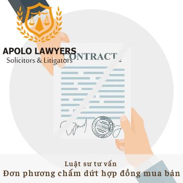 Luật sư tư vấn đơn phương chấm dứt hợp đồng mua bán hàng hóa